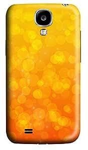 Samsung S4 Case Circles warm 3D Custom Samsung S4 Case Cover