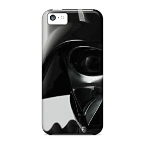 Shockproof Hard Phone Covers For Iphone 5c With Provide Private Custom Realistic Star Wars Darth Vader Pattern KimberleyBoyes