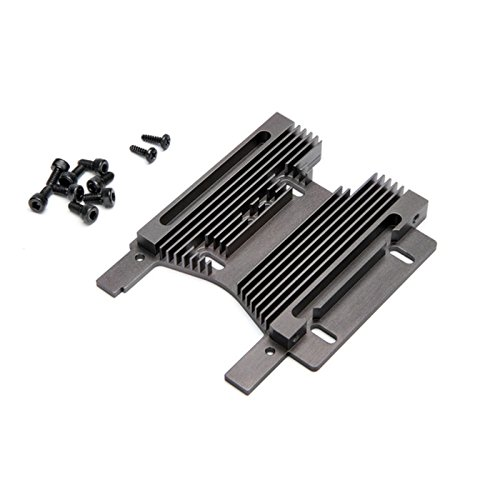 - HD Heatsink Motor Plate 10mm, Gray: Savage Flux
