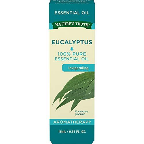 Natures Truth Aromatherapy 100% Pure Essential Oil, Eucalyptus, 0.51 Fluid Ounce