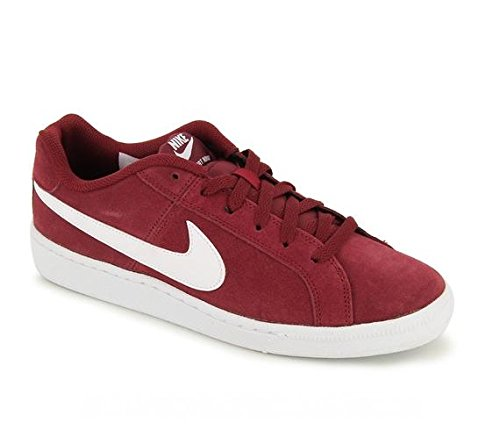 000 Red Nike Shoes Court Tennis Team Men's Rojo Royale Red Suede White 44rPTq