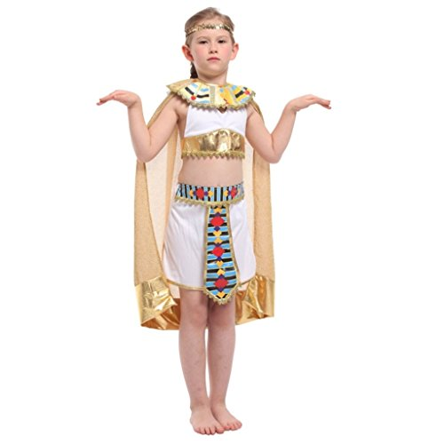 Shanghai Girl Costume (Shanghai Story Kids Egypt Princess Dress Queen Costume For Girl L)