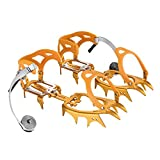 Tentock 14-Teeth Winter Traction Ice Cleat Spikes for Boots Shoes Anti-Slip Crampons for Walking Hiking Snow and Ice