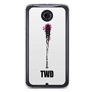 Nexus 6 Transparent Edge Case The Walking Dead A