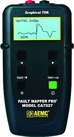 Aemc Ca7027 Fault Mapper Pro Telephone Cable Tester With