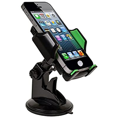 Custom Accessories GOXT 23524 Adjustable Suction Cup Mount Phone Holder: Automotive