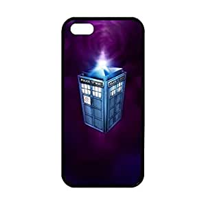 Doctor Who Tardis Plastic and TPU Custom Case for iPhone 5/5s