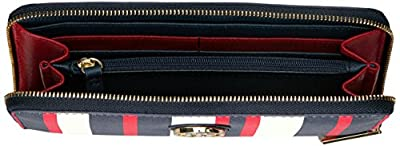 Tommy Hilfiger Th Painted Stripe Large Zip Around Wallet Wallet