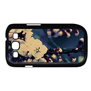 Close up Of Cherry Blossom Watercolor style Cover Samsung Galaxy S3 I9300 Case (Spring Watercolor style Cover Samsung Galaxy S3 I9300 Case)