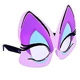 Sun-Staches Costume Sunglasses Ursula Eyes Party Favors UV400