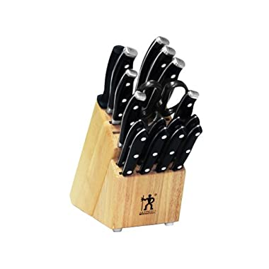 J.A. Henckels International Forged Premio 18-Piece Block Set