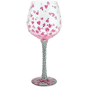 Santa Barbara Design Studio GLS20-5524H Lolita Super Bling Collection Wine Glass, Pretty Girl