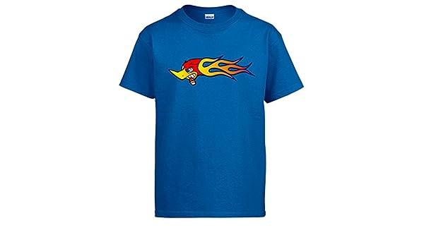 Camiseta El Pájaro Loco Loquillo - Azul, 12-14 años: Amazon.es: Ropa y accesorios
