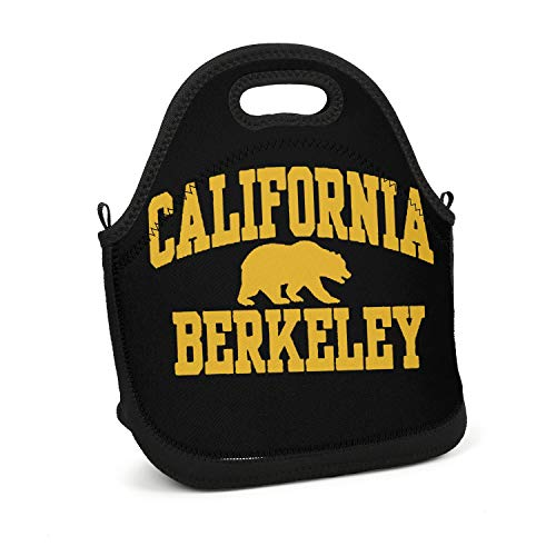 Scsdw Wdrt Lunch Box California Berkeley - Lightweight - Insulated and Reusable - Lunch Tote Bag for Men,Women and Kids - Work,School