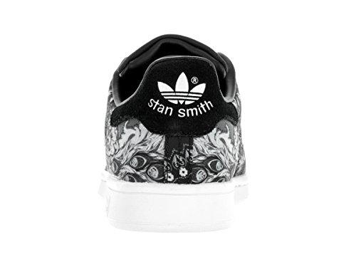 Core Core Running Donna Smith Black Sneaker adidas Black White Stan w6IqY8A