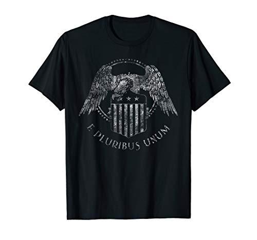 American Patriotic Shirt Eagle Freedom e pluribus unum tee (E Pluribus Unum)