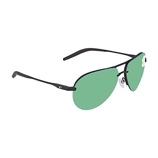b0e2c563e1 Costa Unisex Helo Matte Black Matte Black Black Green Mirror 580p One Size