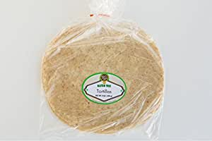 "New Grains Gluten Free Flour Tortillas 2 packs (4 - 10"" tortillas each)"