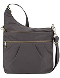 Anti-Theft Signature 3 Compartment Crossbody, Straight...