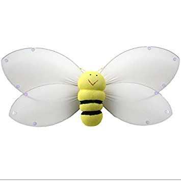 Hanging Bumblebee 5quot Small Yellow Smiling Nylon Bumble Bee Mesh Decorations Decorate Baby Nursery Bedroom