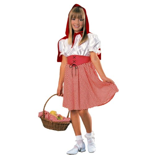Red Riding Hood Kids Costume ( 8-10 years) (Little Red Riding Hood Costume For Kids)