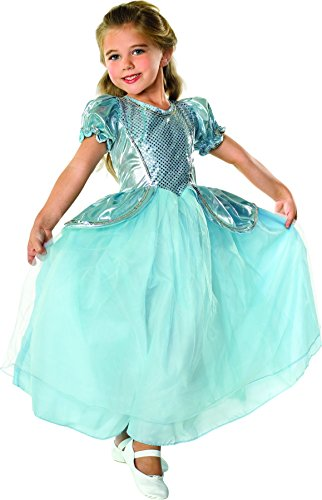 Cinderella Costumes Rental (Rubie's Costume Palace Princess Child Costume, Medium)