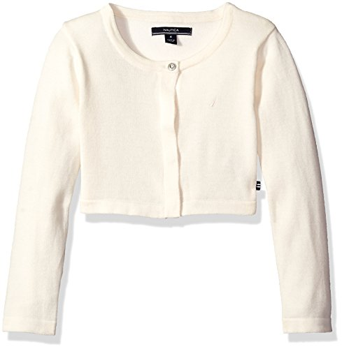 girls cream cardigan - 1