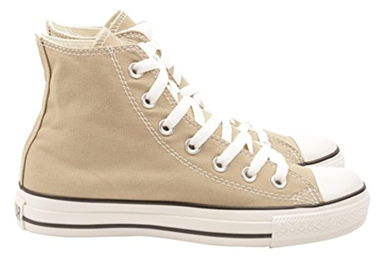Converse Unisex Adults' Chuck Taylor All Star Season Hi Low-Top Sneakers Beige Size: 3.5 UK