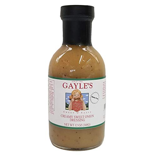 (Gayle's Sweet 'N' Sassy Creamy Sweet Onion Dressing, 12 Ounces)