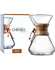 Chemex 10-Cup Houten Hals Koffiezetapparaat