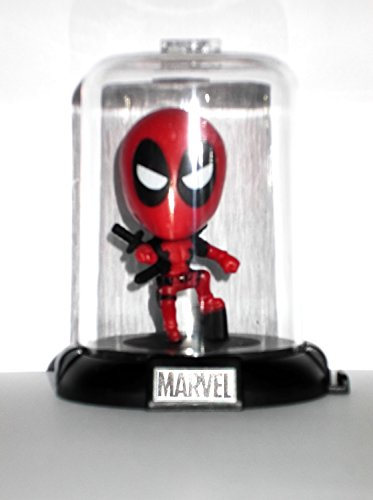 Marvel Deadpool Collectible Original Mini's Domez ~ Deadpool Pose 2 Domed Collectible Mini Character (Opened to Identify)