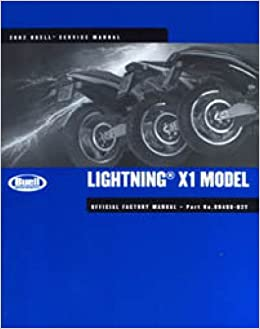 buell x1 lightning 1999 2000 workshop service repair manual