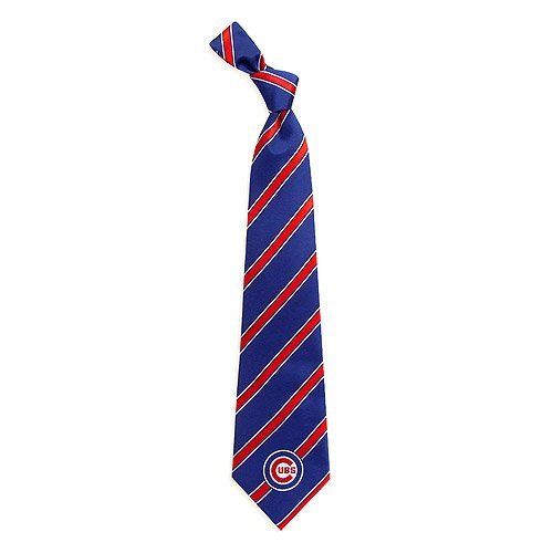 Chicago Cubs Woven Polyester Necktie