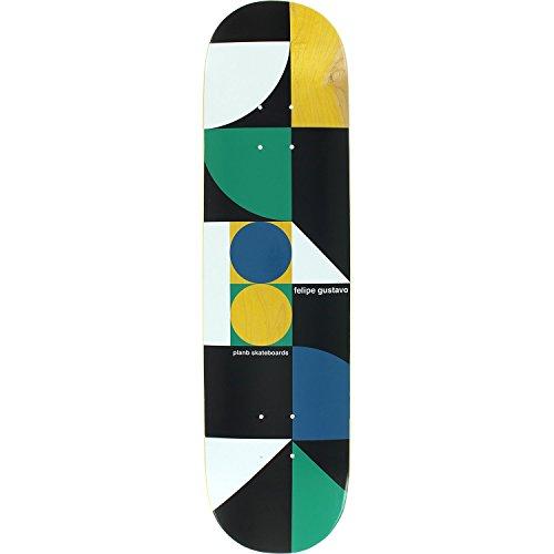 Plan B Felipe Geometrics Deck -7.75 Assembled as COMPLETE Skateboard