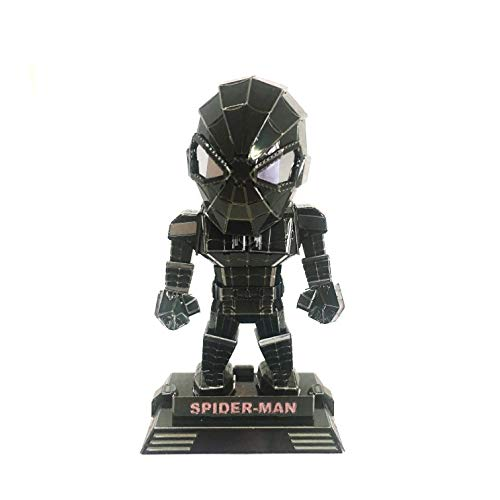 (3D Inno Metal Model Spider Man SD (Black))