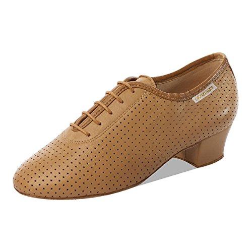 5 Cm Pelle 3 Flesh Ballo Allenamento Scarpe Donne scarpe uk Da 1026 Normale Blocco 6 PT6RwCqx