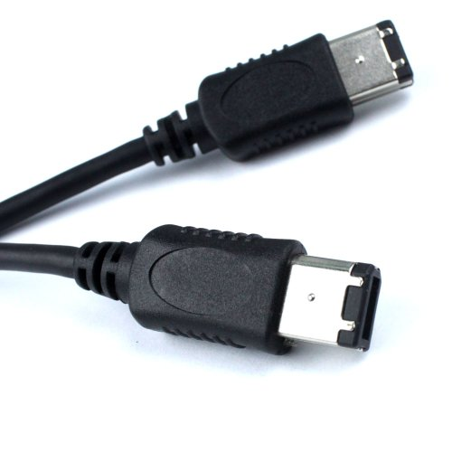 LETO Firewire 6-4 P DV Video Cable Cord For Canon Vixia HV30 HV20 HV10 XM2 XM1 ZR100