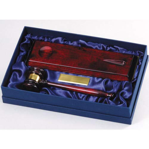 Rosewood Gavel Award with Free Engraving (Customize Now!)