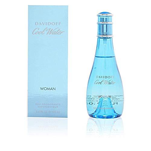 Cool Water by Zino Davidoff | Eau de Toilette | Fragrance for Women | Ocean Breeze and Sea-Water Scent | 100 mL / 3.4 fl oz (Davidoff Cool Water Woman Sensual Essence Review)
