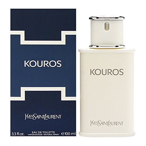 (Kouros by Yves Saint Laurent for Men - 3.3 oz EDT Spray)