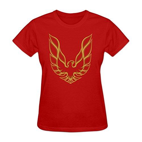 Ptshirt.com-3251-Women\'s Pontiac Firebird DIY Cotton Short Sleeve T Shirt YHLN-B01MSFI4DN-T Shirt Design