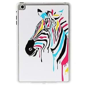Colorful Zebra Pattern PC Hard Case for iPad mini/iPad mini2