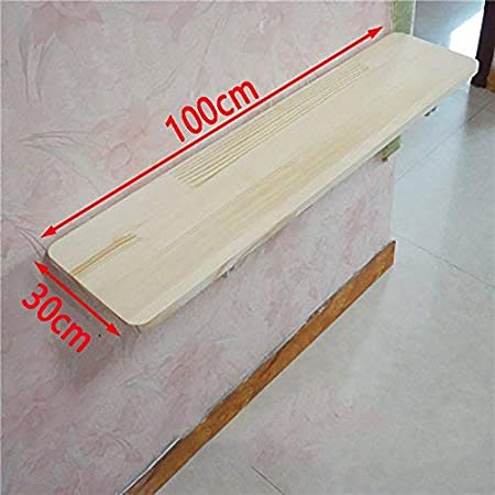 Creative Design Table,Folding Table Wooden Solid Wood Desk Computer Wall Hanging Desk Wall Dining Reading Living Room,Household Table XQY Wall-Mounted Table