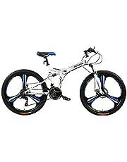 فتنس مينتس دراجة قابلة للطي، FM-F26-04M-WH