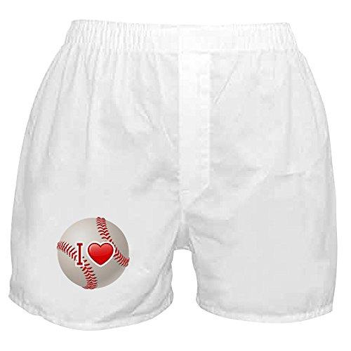 Royal Lion Boxer Short (Shorts) I Love Baseball - (Red Sox Boxer Shorts)