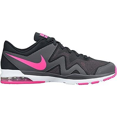 Nike Herren Leichtathletikschuhe, Schwarz - Schwarz - Noir - Negro (Black/Pink  Pow