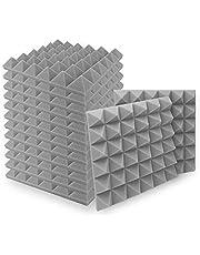 SELECTOP Paquete de 12 espuma acústica de 5 x 30 x 30 cm