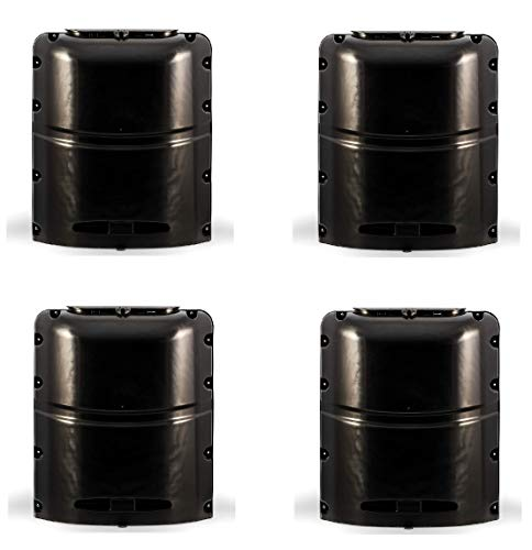 Camco Mfg 40565 Lp Tank Cover 20# SGL Black (4) by CamcoRV  (Image #1)