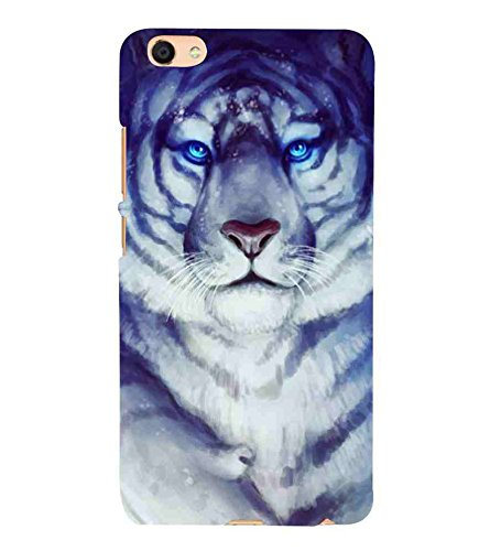 39dca5db2029 For vivo X7L tiger Printed Cell Phone Cases, animal: Amazon.in ...