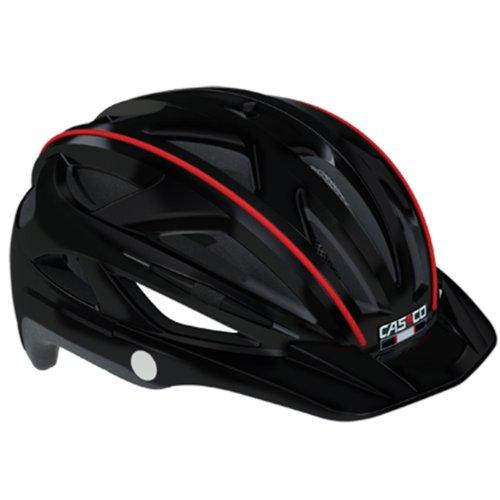 CASCO Active-TC schwarz Life Reflektor Fahrradhelm Helm Bike Cityhelm Trekking City, 16.04.0802, Größe L/XL 58 - 61 cm